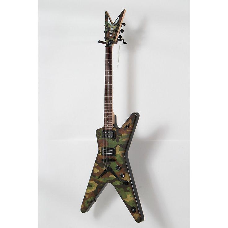 Dean Dimebag Dime Camo ML Electric Guitar Custom Graphic 888366026212
