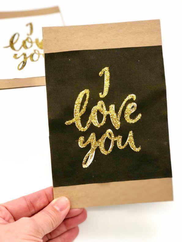 DIY Geschenke Bzw. Karten Zum Valentinstag Selber Machen. So Bastelt Ihr  Euch Schöne Geschenke