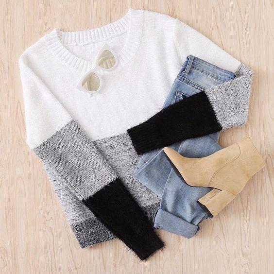 كوليكشن تنسيقات ملابس كاجوال حلوة ومميزة للشتاء 2019 Gorgeous Winter Casual Outfits Collection In 2021 Fashion Fall Outfits Winter Fashion Outfits