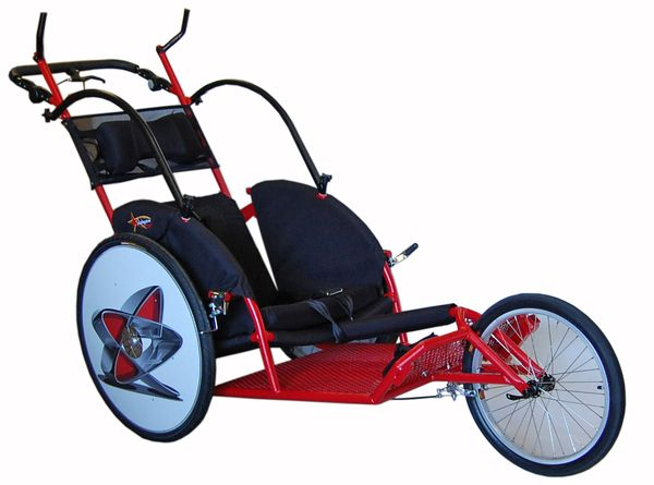 Adaptive Star Axiom Racer Conversion, (Marathon duwrolstoel, Passive Marathon Wheelchair)