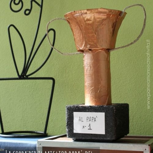 Lavoretti festa del pap la coppa per il miglior pap da - Miglior materiale per finestre ...