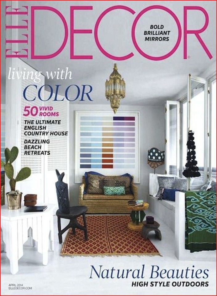 Top Home Décor Magazines Only For You  Elle decor, Elle decor