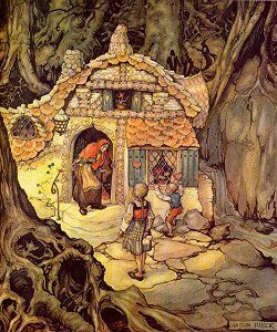 hansel and gretel by anton pieck anton pieck pinterest anton graphics and illustrations. Black Bedroom Furniture Sets. Home Design Ideas