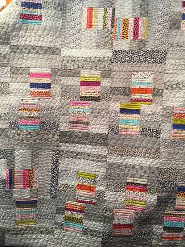 Mochi by Natalie Barnes of Beyond The Reef Patterns. Need to do with blues & greens on greys.