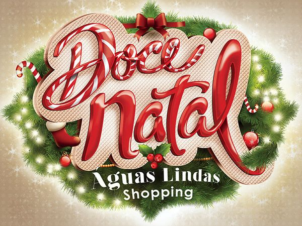 Doce Natal Águas Lindas Shopping on Behance