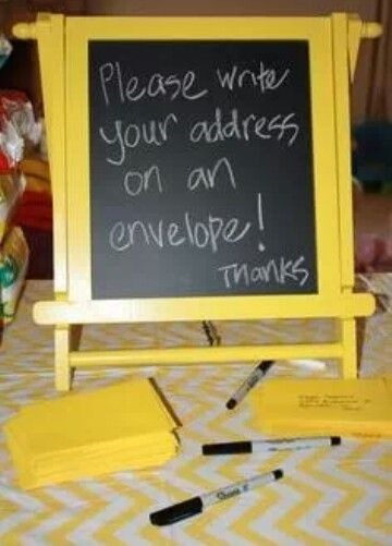 Thank you help_ great idea with modifications. Classy pic frame and designed cards for address