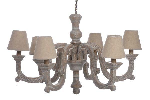 Kroonluchter landelijke stijl landelijke lampen for Kroonluchter kapjes
