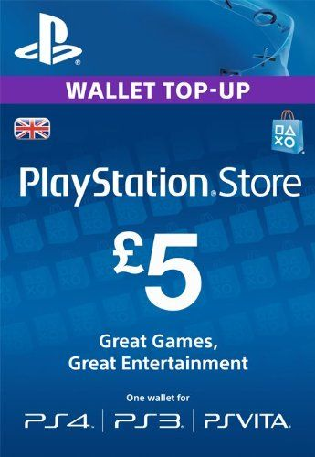 PSN CARD 5 GBP WALLET TOP UP [PSN Code - UK account] Sony http://www.amazon.co.uk/dp/B00H4IP38U/ref=cm_sw_r_pi_dp_550vwb0KWP36F