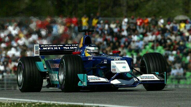 No.7 Nick HEIDFELD                 Sauber Petronas                        Sauber C21                                Petronas 02A NA3.0L V10 Bridgestone                                  (2002 San Marino Grand Prix)