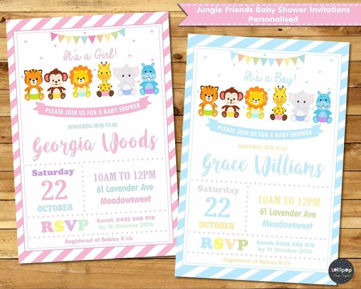 75 best Baby Shower Invitations images – Garden Party Baby Shower Invitations