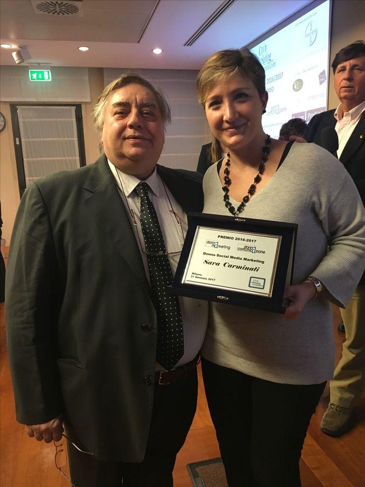 Donna social media marketing award