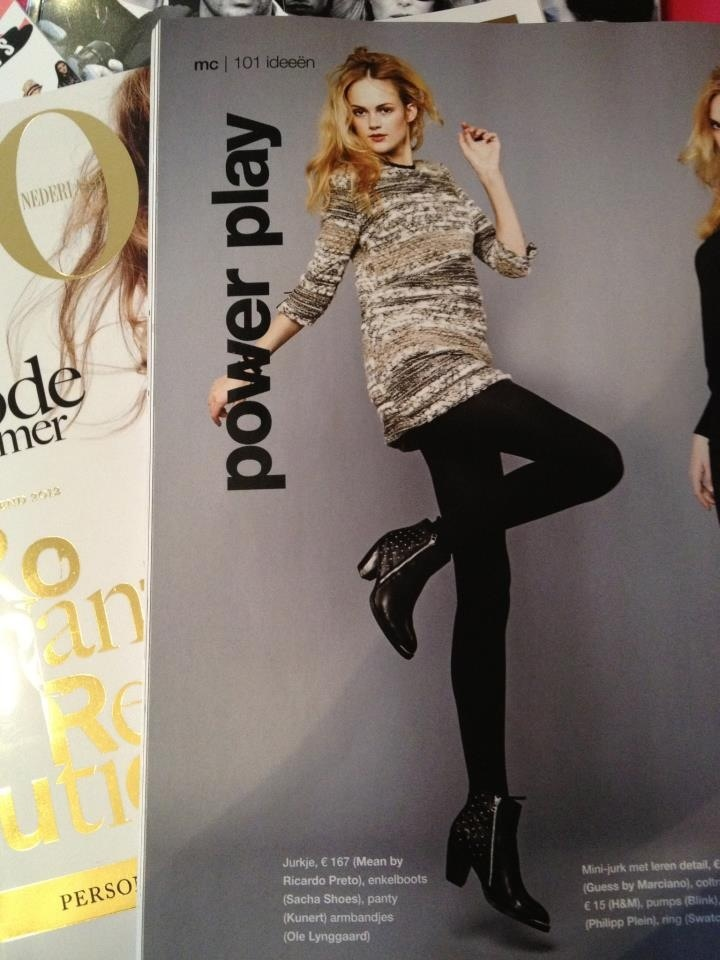 Marie Claire The Netherlands - Meam by Ricardo Preto Fall Winter collection 2012/2013
