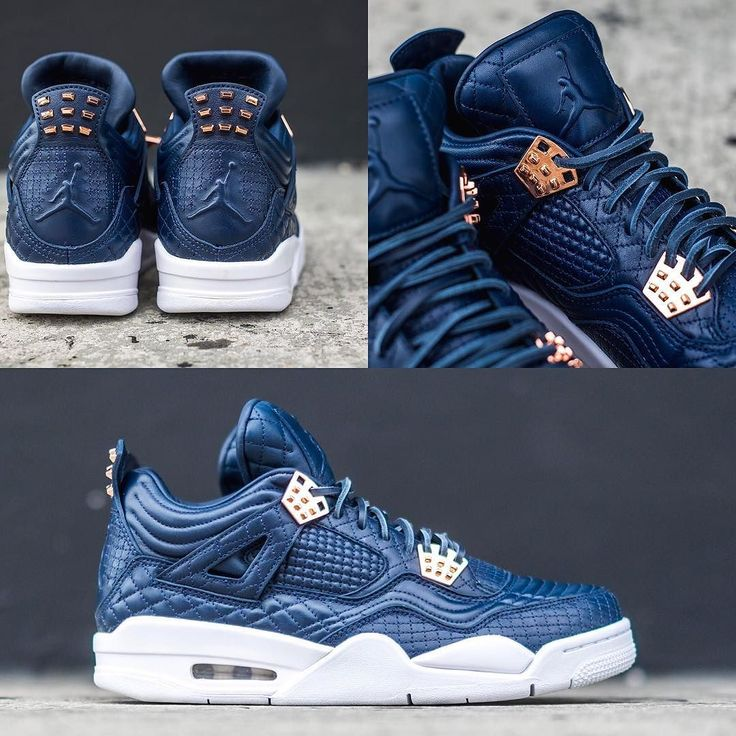 "NEW ARRIVALS: Nike Air Jordan 4 Premium ""Obsidian""  shop now at kickbackzny.com  men's only"