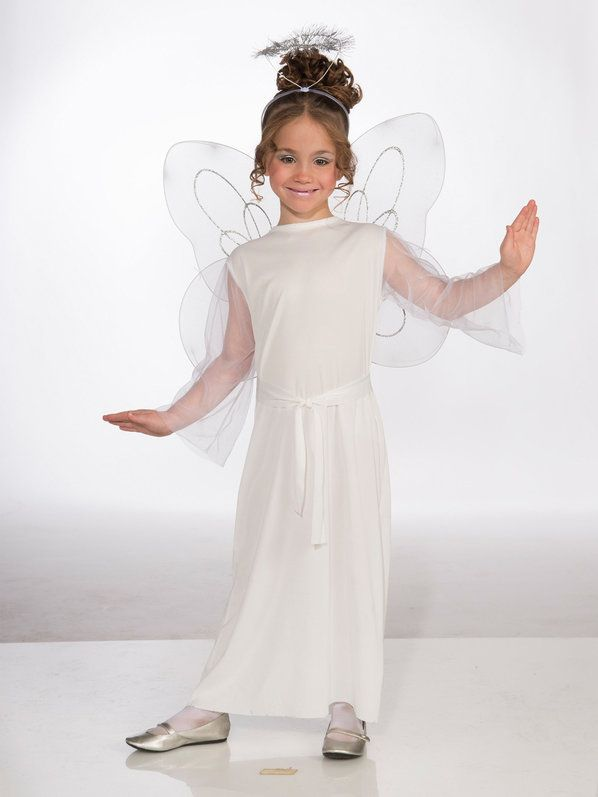 Check out Girls Angel Costume - Girls Angel Halloween Costumes from Anytime Costumes