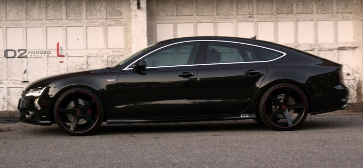 Audi A7 Gets D2Forged Concave Wheels