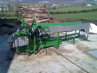 Ferguson firewood processor  Fergusons Firewood Processor