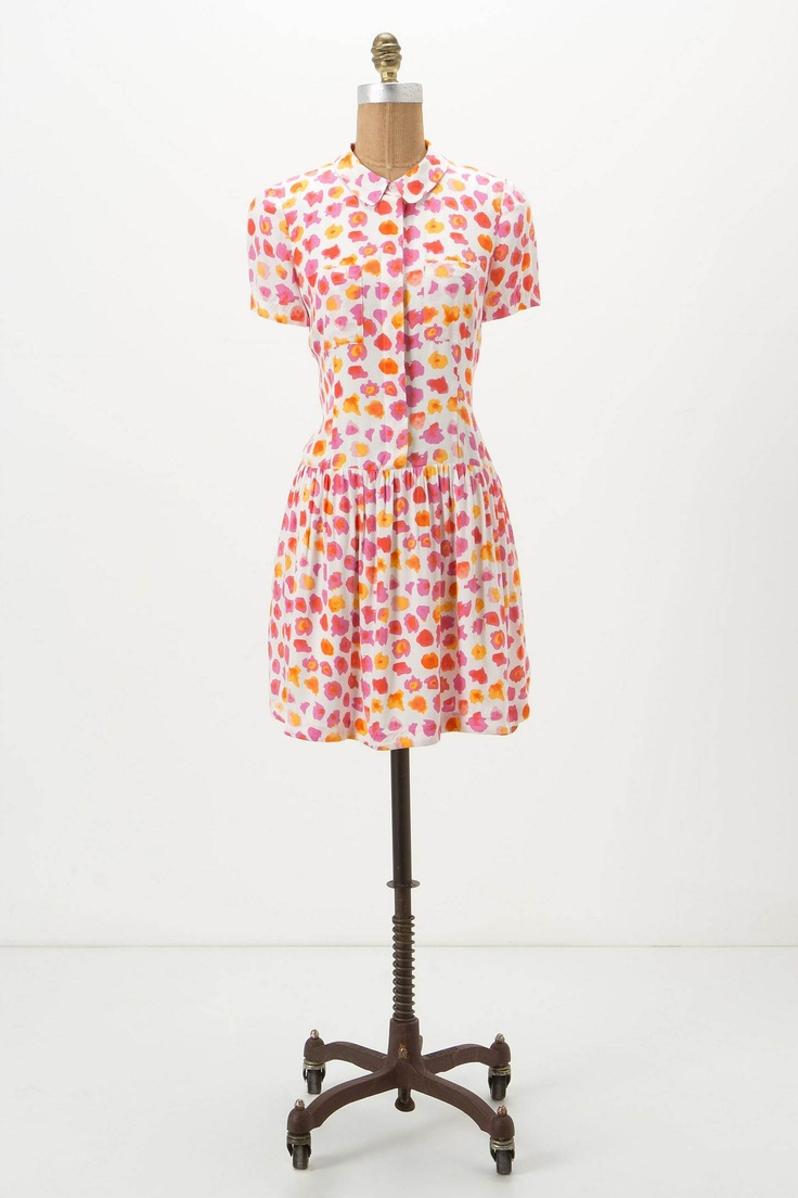 Amapolas Shirtdress from Anthropologie, I love the colors!: Dresses Clothing, Dressy Dresses, Plays Dresses Up, Cute Dresses, Classic Shirtdress, Anthropologie Com, Shirts Dresses, Shirtdress Anthropology, Amapola Shirtdress