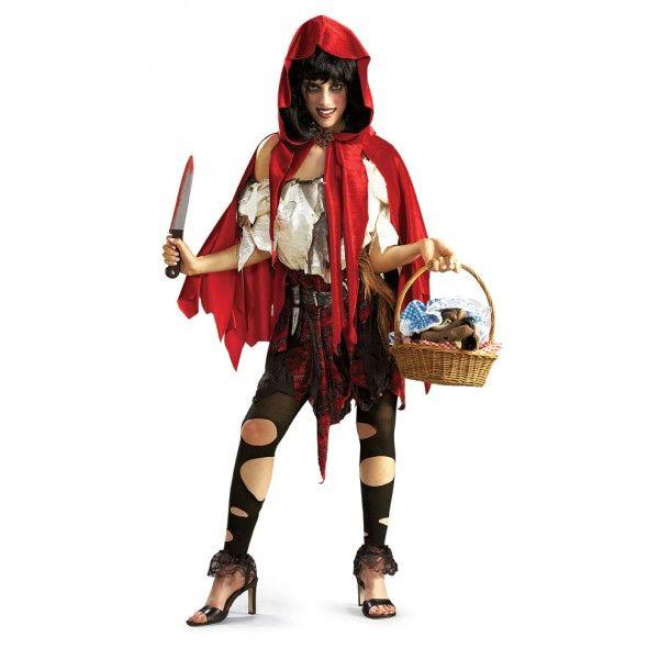 Disfraz de Caperucita halloween para mujer