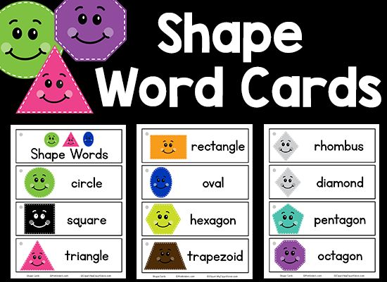 This set of Shapes picture-word cards can be used in your classroom in so many ways. My Picture-Word Card collection is growing and growing, but until today was lacking a set of Shapes! This set includes probably every shape you could need, and I included a card for diamond and rhombus so you can choose the one you …