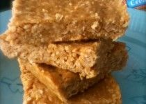 3 Ingredient No-Bake Peanut Butter Bars