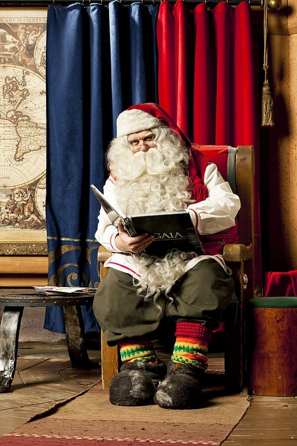 Classic!  Santa Claus IS from Finland :) by Visit Finland, via Flickr