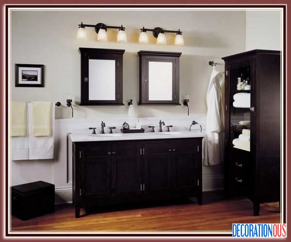 Vanity Lights Placement : Put The Bathroom Lighting Fixtures Over Mirror For Your Bathroom - http://www.decorationous.com ...