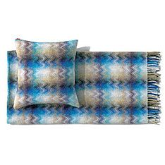 top3 by design - Missoni Home - erode throw 130x190 -170 - blue