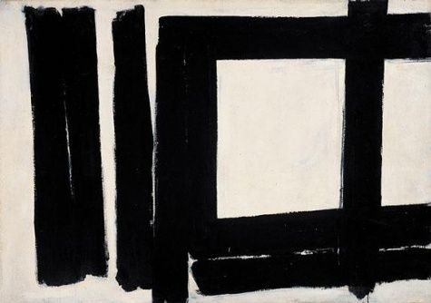 Franz Kline. Painting No. 7. 1952 Franz Kline. Franz Kline Paintings, plastic arts, visual arts, art, abstract expressionism