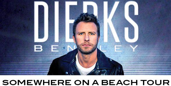 Dierks Bentley – Somewhere on a Beach Lyrics -