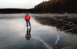 Hunters of perfect wild ice having a stellar season in northwest Montana