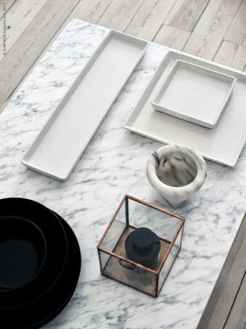 La maison d'Anna G.: DIY: marble coffee table