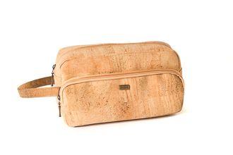Cork zip Necessaire Natural