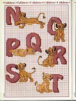 The Lion King alphabet (3)