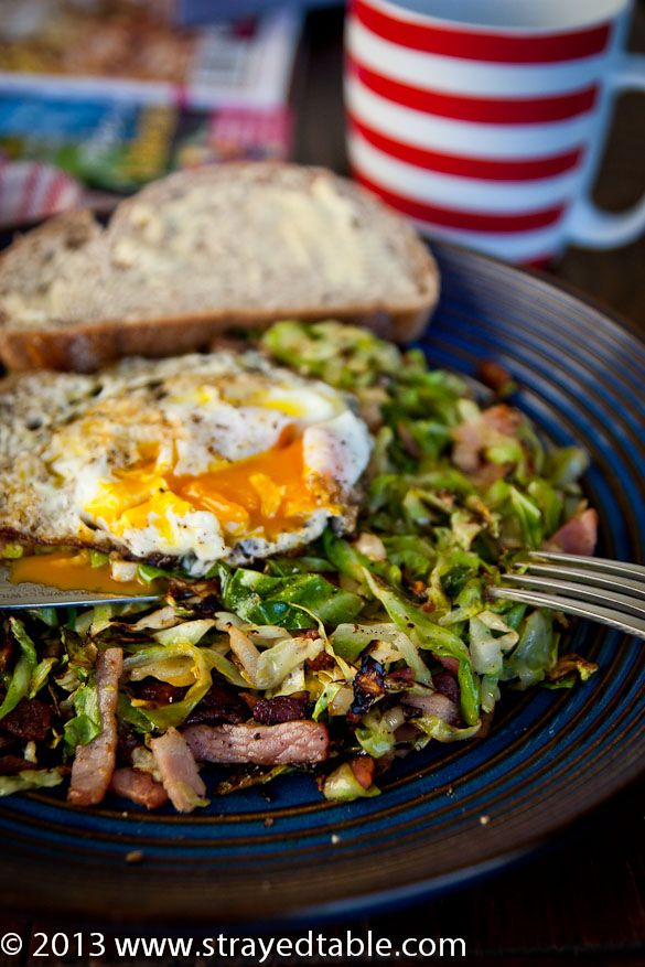 Sugarloaf Cabbage with Bacon recipe