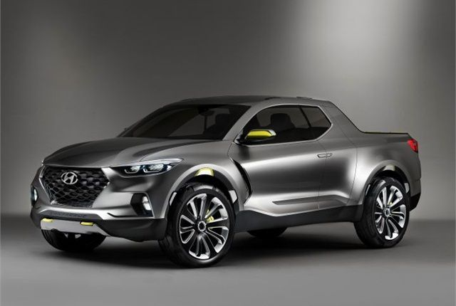 Hyundai set to bring a compact truck concept to production. Looks like Toyota, Nissan, Chevy and GMC small trucks are going to get some more competition. Hyundai is expected to put into production the pickup mirroring the Santa Cruz that was shown in January at the Detroit Auto Show. We hear that the management of Hyundai is aiming to fast track the v...