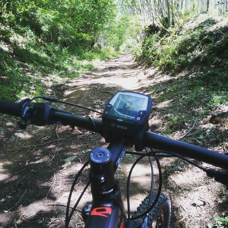 """Instagram picutre by @angraves93: After 100 km on road let's start """"The off road experience"""" #whistle #freeride  #downhill  #allmountain  #fullsuspended  #mtb  #mtbpassion  #wood  #mountain #ebike #mountainbike - Shop E-Bikes at ElectricBikeCity.com (Use coupon PINTEREST for 10% off!)"""