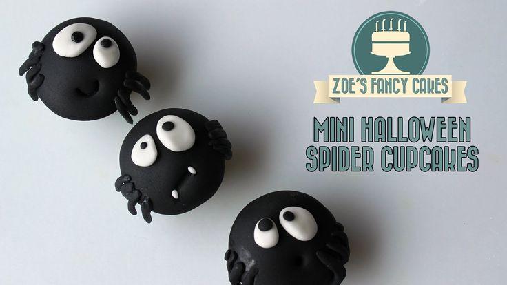 70 best tortas halloween images on pinterest halloween for Halloween mini cupcake decorating ideas