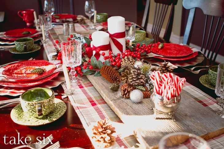 Christmas Tablescape » Take Six