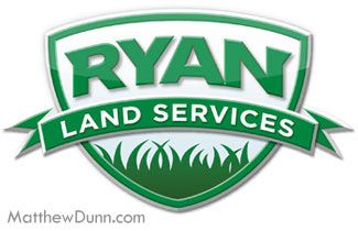 Logo for a landscaping company