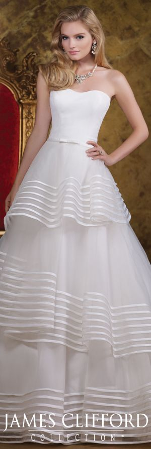 14 best James Clifford Couture Gowns images on Pinterest | Short ...