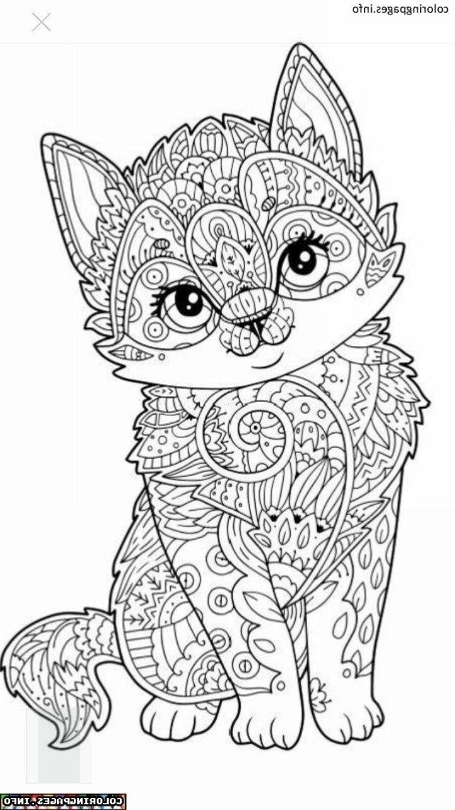 25+ Inspiration Image of Animal Mandala Coloring Pages ... | colouring pages mandala animals