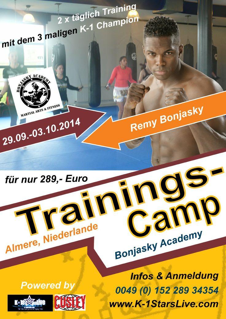 29.09.- 03.10.2014 Remy Bonjasky Trainingscamp