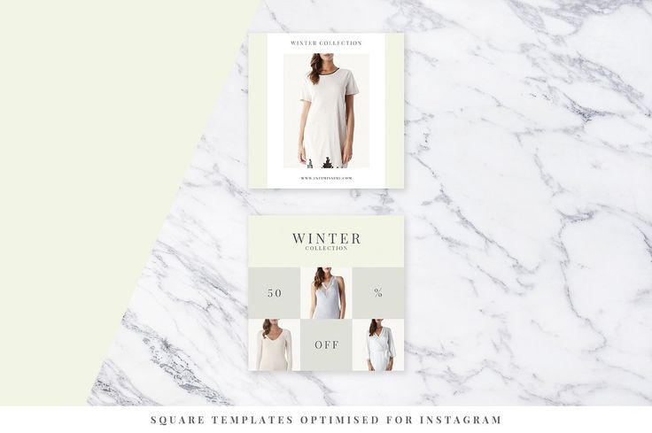 Light Fashion Instagram Pack - Web Elements - 5