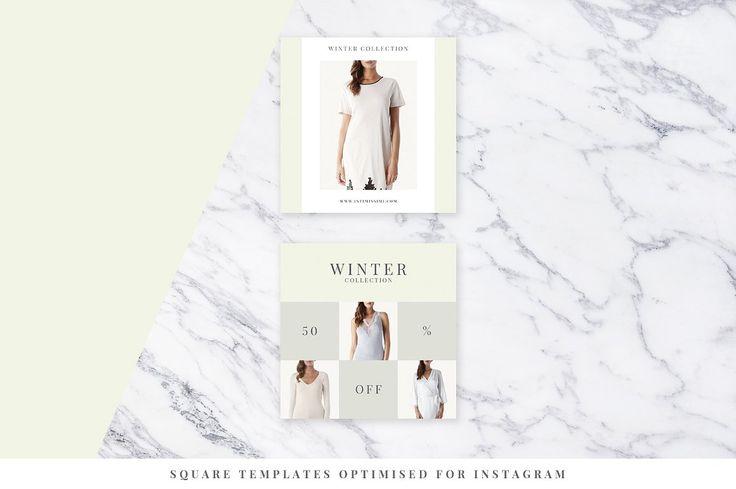 Light Fashion Instagram Pack - Web Elements - 5