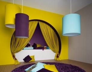 Tapeten Shop | Tapete günstig kaufen | Vliestapete | Tapetenshop | TapetenagenturIdeas, Colors Combos, Deep Purple, Interiors Design, Colors Combinations, Colleges Room, Bold Colors, Nooks, Purple Sky