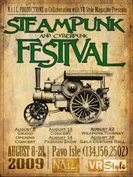 Steampunk Festival Poster