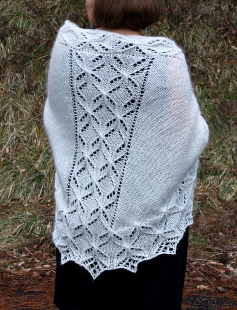 All Knitted Lace: Free Pattern Motif: Quatrefoil