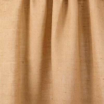 "Saro Burlap Jute Country Farmhouse Natural Lined Curtain Panel Size: 42"" X 108"""