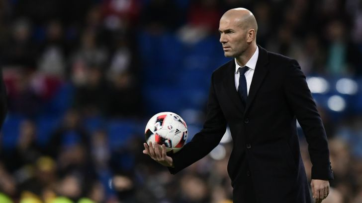 Zinedine Zidane est fier de son fils Enzo, buteur ce mercredi soir en Coupe du Roi (6-1).