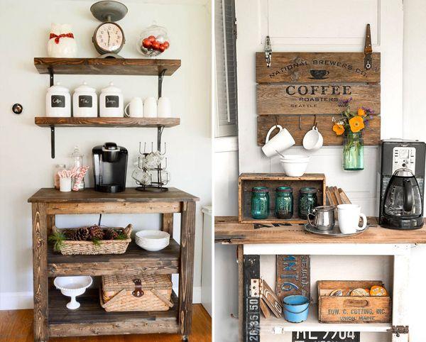 7 ideias para deixar o cantinho do café mais charmoso